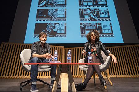 Zeina Abirached i Paco Roca