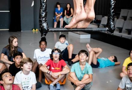 Fourth week of «Culturnautes 2018»: Circus Laboratory