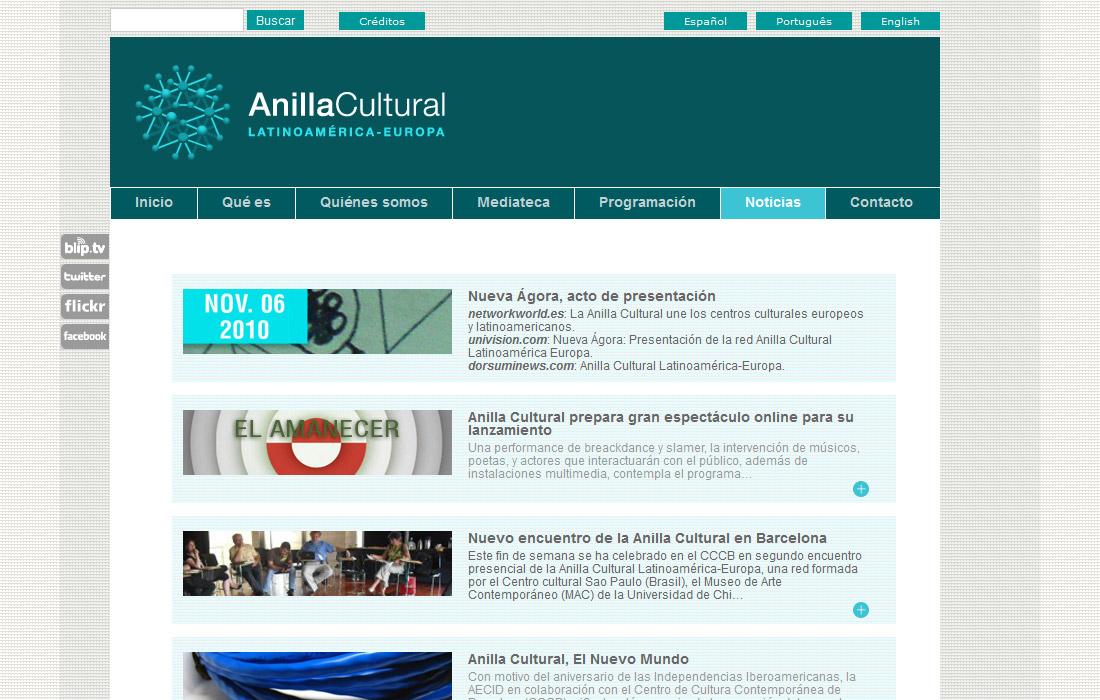 Anilla Cultural Latinoamérica-Europa