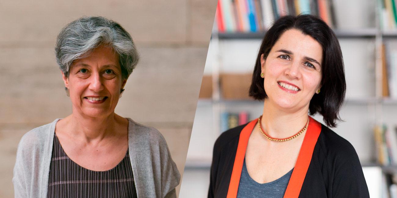 Teresa Caldeira and Judit Carrera
