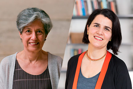 Teresa Caldeira i Judit Carrera