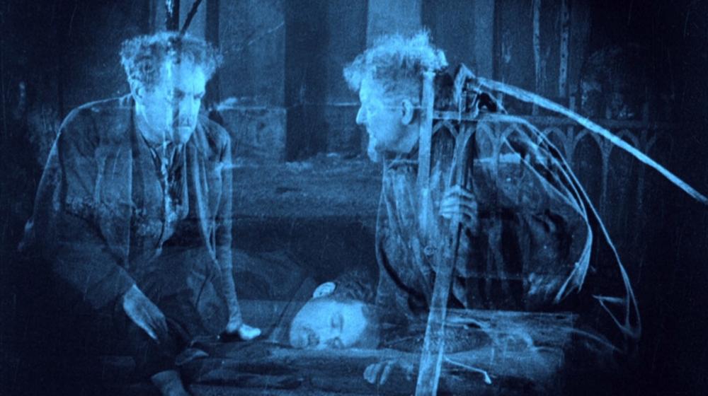 «Körkarlen/La carreta fantasma» (Victor Sjöström, 1921)