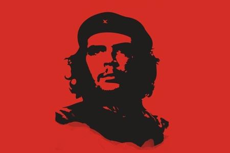 Dues imatges: el Che mort
