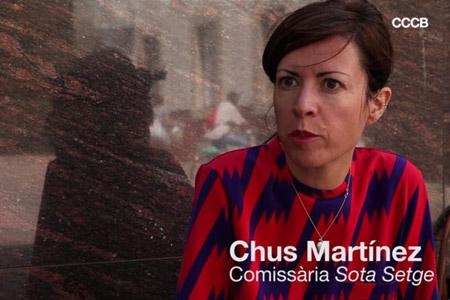 Entrevista a Chus Martínez, comissària de l'exposició