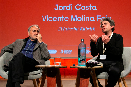 Jordi Costa and Vicente Molina Foix