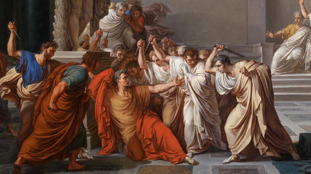 Vincenzo Camuccini - La morte di Cesare