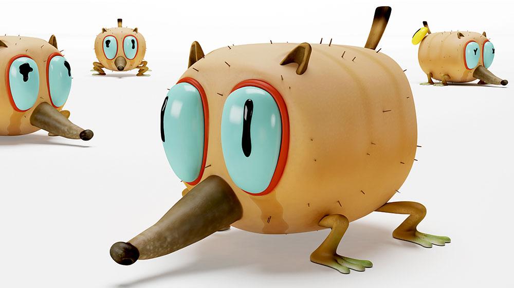 Frame of Doomed, a biological cartoon! by Guillermo García Carsí, 2011