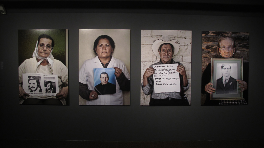 Imagen de la exposición: Desaparecidos