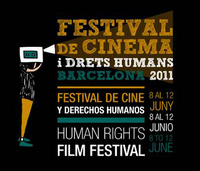 Imagne gráfica del Festival de cine y derechos humanos