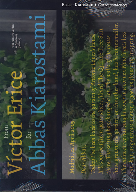Erice - Kiarostami. Correspondences