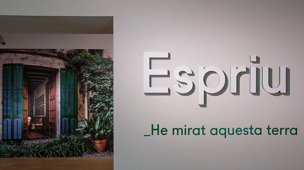 Imatge de l'exposició: Espriu. He mirat aquesta terra