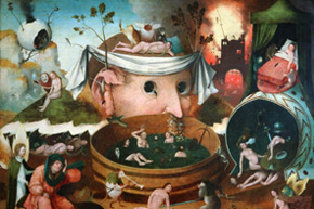 Seguidor de Hieronymus Bosch, El Bosco. Visión de Tondal, a partir de 1501-1550