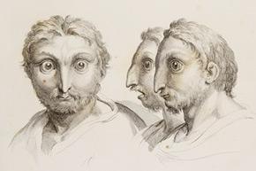 Charles Le Brun. Dissertation sur un Traité de Charles Le Brun concernant le rapport de la Physionomie Humaine avec celle des animaux