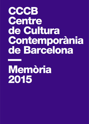 Portada del document: Memòria 2015