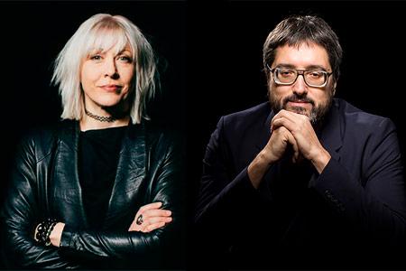 Mary Flanagan y José Luis de Vicente