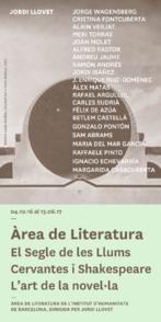 Cursos de l'Àrea de Literatura