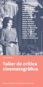 Taller de crítica cinematogràfica. Teoria i pràctica