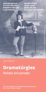 Dramaturgias. Relatos encarnados