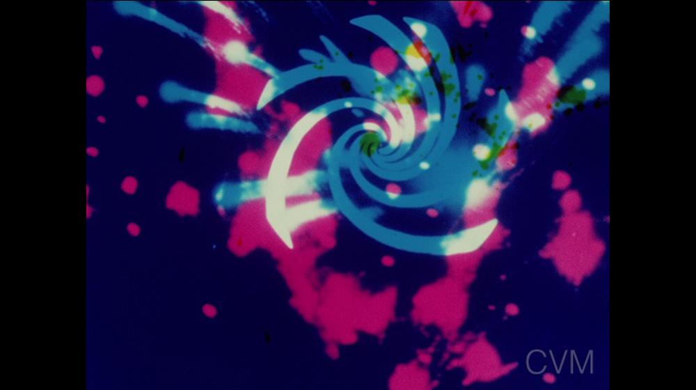 Fotograma de Color Rhapsodie (Mary Ellen Bute, 1948; cortesia Center for Visual Music)