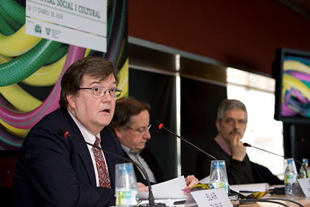 Josep Ramoneda, Blair Ruble y Pep Subirós: Inmigración: el capital social y cultural. ¿Inmigrantes o nuevos ciudadanos? ¿Integración y/o exclusión?