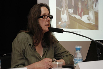 "Jane Alexander  | Jane Alexander. Debate at the CCCB: ""Local Racism, Global Apartheid"" © CCCB, 2007"