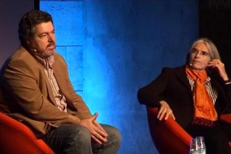 Kosmopolis 08. Donna Leon and Juan López de Uralde