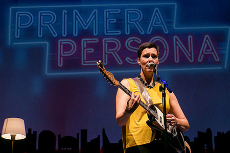 Primera Persona 2014. Laetitia Sadier (Stereolab)