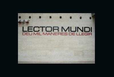 Imagen de la exposición: Lector Mundi