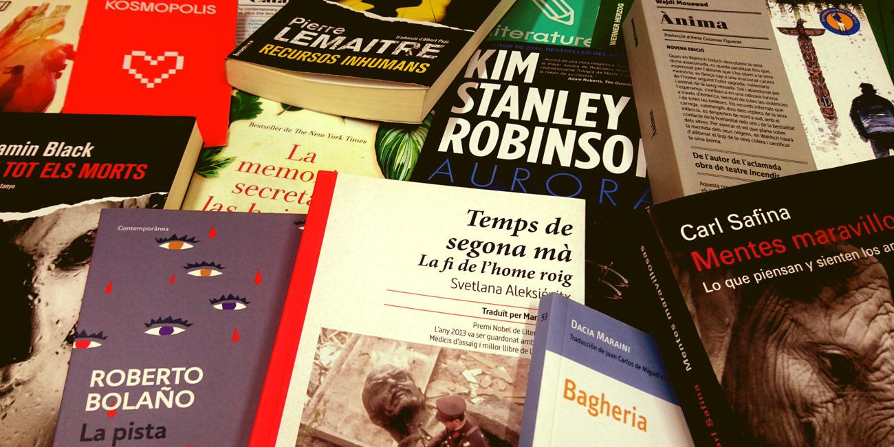 Imatge de: Els llibres de Kosmopolis per a aquest estiu