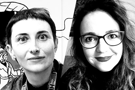 Victoria Lomasko and Marta Nin