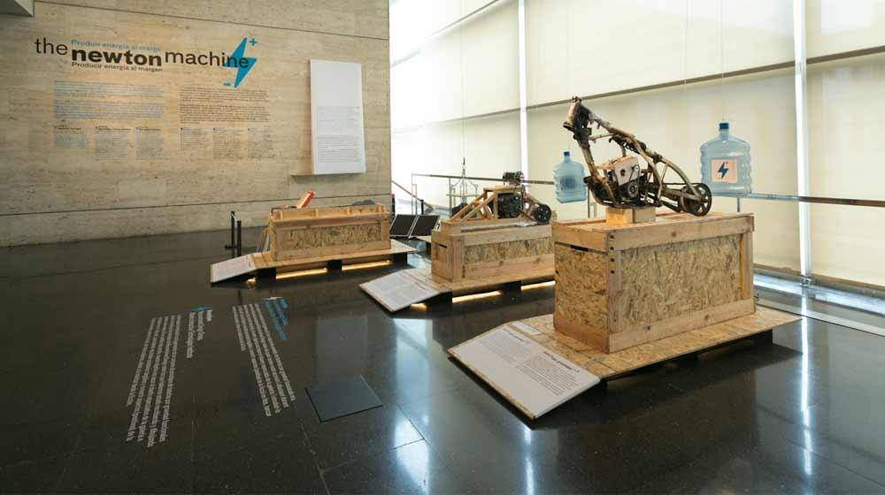 Imatge de l'activitat: The Newton Machine