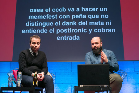 Memefest. Noel Ceballos i El Hematocrítico