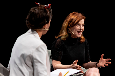 Susan Orlean and Bel Olid