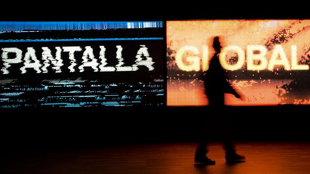 Imagen de la exposición: Pantalla Global