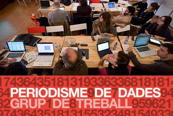 Imatge de l'activitat: Periodisme de dades. Sessió de treball (II)