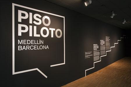 Reportaje de la exposición «Piso Piloto»