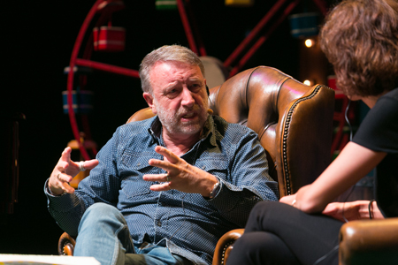 Peter Hook with Agnès Marquès