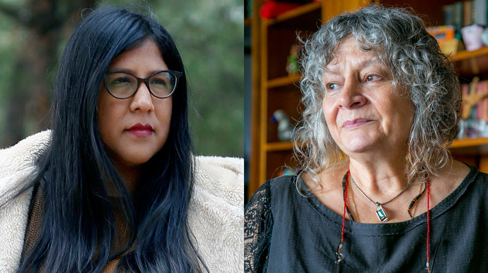 Image of the activity: Lecture by Rita Segato and discussion with Gabriela Wiener