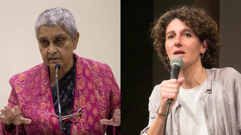 Imagen de la actividad: Diálogo entre Gayatri Spivak y Marina Garcés