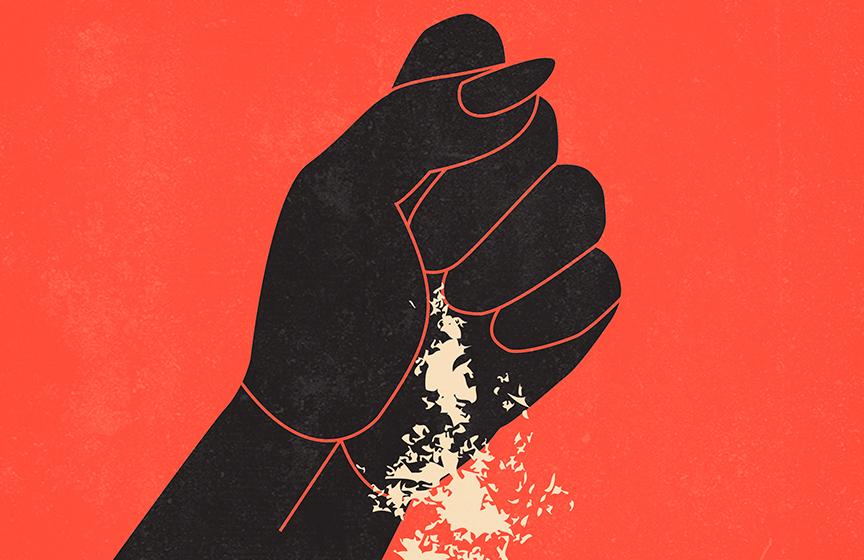 Cartell de la representació d'Antígona de Sòfocles adaptada per Bertolt Brecht