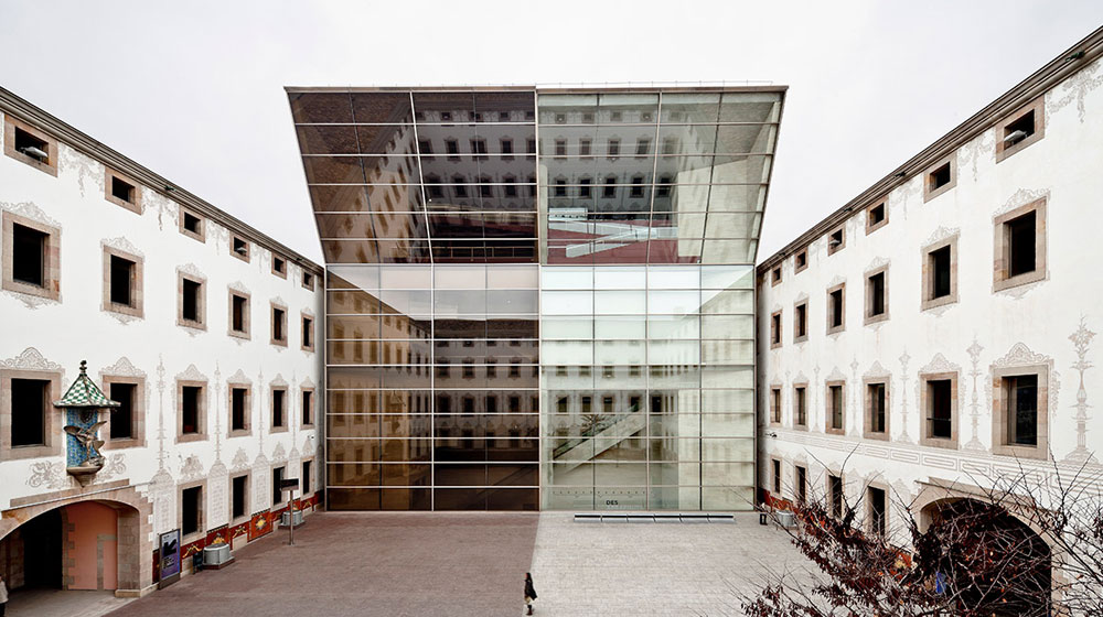 Image from the press dossier: CCCB. Photos Of The Buildings