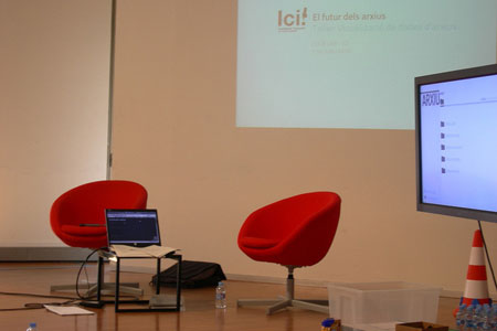 Workshop visualisation of archive data (II)