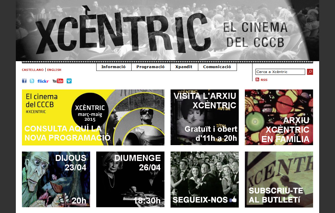 Xcèntric, el cinema del CCCB