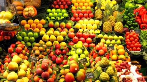 El precio de la fruta