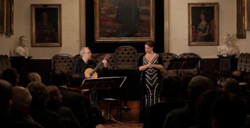 Para una sola voz. Concierto a cargo de Jaume Torrent y Susanna Crespo
