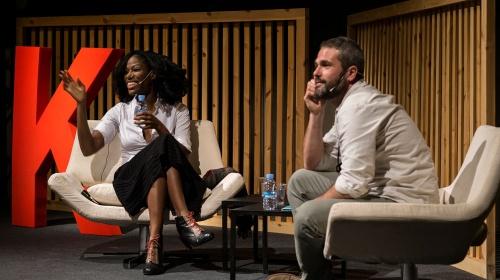 Taiye Selasi i Xavier Aldekoa