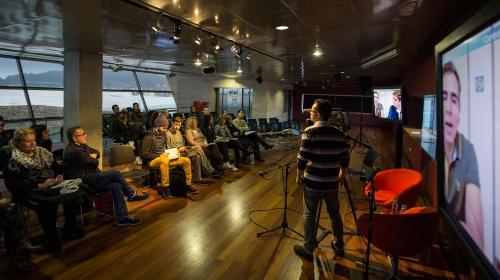 Jorge Franco (videoconferència), Santiago Alberto Gutiérrez i Ricardo Reitano