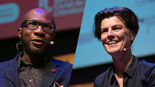 Teju Cole and Carolin Emcke