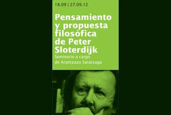 Pensamiento y propuesta filosófica de Peter Sloterdijk