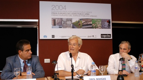 Award Ceremony of the 2004 European Prize for Urban Public Space